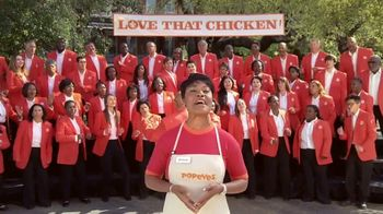 Popeyes Cajun Wings TV Spot, 'Singing All About My Chicken' - 371 commercial airings