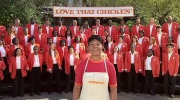 Popeyes Cajun Wings TV Spot, 'Singing All About My Chicken' - Thumbnail 1