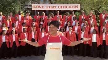 Popeyes Cajun Wings TV Spot, 'Singing All About My Chicken' - Thumbnail 10