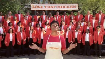 Popeyes Cajun Wings TV Spot, 'Singing All About My Chicken' - Thumbnail 2