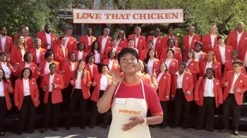 Popeyes Cajun Wings TV Spot, 'Singing All About My Chicken' - Thumbnail 4