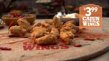 Popeyes Cajun Wings TV Spot, 'Singing All About My Chicken' - Thumbnail 6
