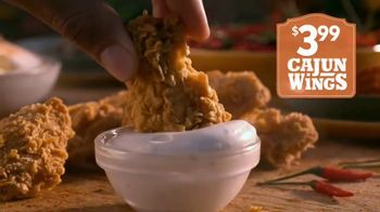 Popeyes Cajun Wings TV Spot, 'Singing All About My Chicken' - Thumbnail 7