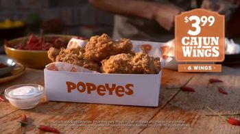 Popeyes Cajun Wings TV Spot, 'Singing All About My Chicken' - Thumbnail 9