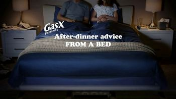 Gas-X Ultra Strength TV Spot, 'After-Dinner Advice From a Bed' - Thumbnail 2