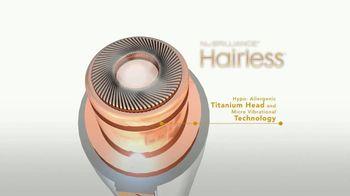 NuBrilliance Hairless TV Spot, 'Smooth Finish' - Thumbnail 3