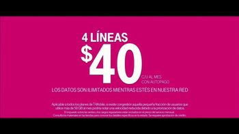 T-Mobile Unlimited Family Plan TV Spot, 'Más lugares' [Spanish] - Thumbnail 10