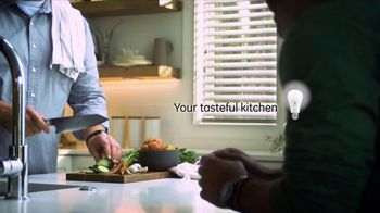 GE Lighting Reveal HD+ TV Spot, 'Light for Your Kitchen' - Thumbnail 5