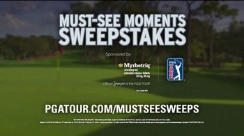 PGA TOUR Must-See Moments Sweepstakes TV Spot, 'Simple Read' - Thumbnail 7
