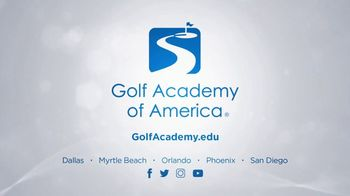 Golf Academy of America TV Spot, 'Lead the Golf Industry With Your Degree' - Thumbnail 8
