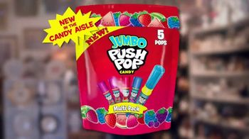 Jumbo Push Pop TV Spot, 'Tour Guide: New Larger Bag' - Thumbnail 10