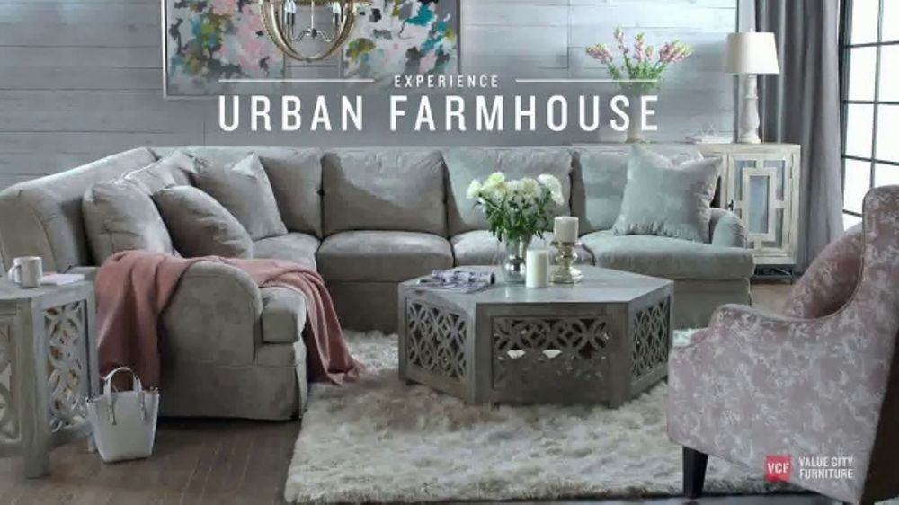 Value City Furniture TV Commercial, 'Urban Farmhouse Collection'