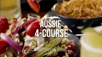 Outback Steakhouse Aussie 4-Course Meal TV Spot, 'Starting at $15.99' - Thumbnail 5