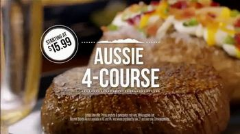 Outback Steakhouse Aussie 4-Course Meal TV Spot, 'Starting at $15.99' - Thumbnail 6