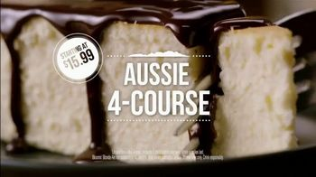Outback Steakhouse Aussie 4-Course Meal TV Spot, 'Starting at $15.99' - Thumbnail 7