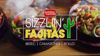 Golden Corral Sizzlin' Fajitas TV Spot, 'Humeantes' [Spanish] - 519 commercial airings
