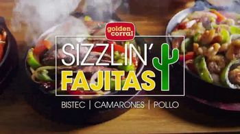 Golden Corral Sizzlin' Fajitas TV Spot, 'Humeantes' [Spanish] - 519 commercial airings