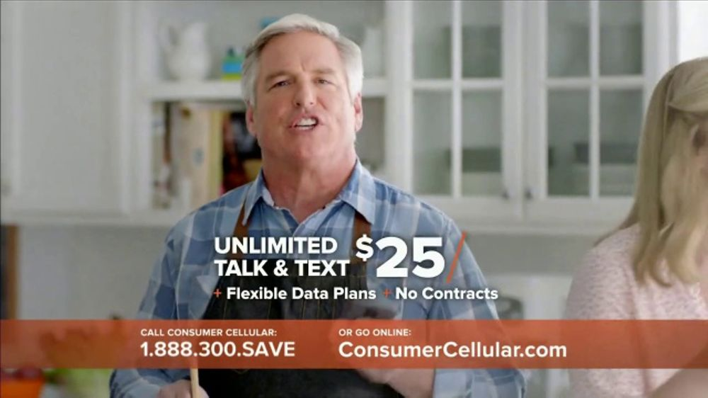 consumer cellular tv commercial the way you like it 20 credit