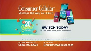 Consumer Cellular TV Spot, 'Secret Recipe: Summer Savings: $20 Sweet Savings' - Thumbnail 9