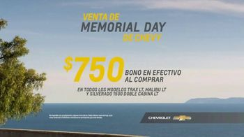 Chevrolet Venta de Memorial Day TV Spot, 'New Couple' [Spanish] [T2] - Thumbnail 7