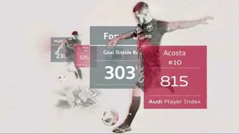 Audi Player Index TV Spot, 'A New Form of Soccer Intelligence' [T1] - Thumbnail 8