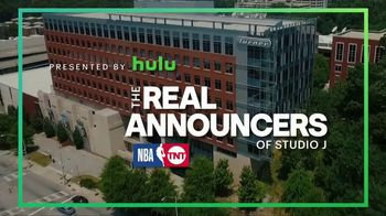 Hulu TV Spot, 'TNT: The Real Announcers of Studio J: Always Late' - Thumbnail 1