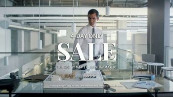 JoS. A. Bank 4-Day Only Sale TV Spot, 'Huge Selection of Shoes' - Thumbnail 8