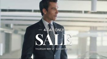 JoS. A. Bank 4-Day Only Sale TV Spot, 'Huge Selection of Shoes' - Thumbnail 1