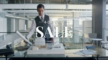 JoS. A. Bank 4-Day Only Sale TV Spot, 'Huge Selection of Shoes' - Thumbnail 7