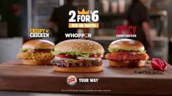 Burger King 2 for $6 Mix or Match TV Spot, 'Yanny/Laurel' - Thumbnail 10
