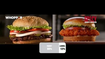 Burger King 2 for $6 Mix or Match TV Spot, 'Yanny/Laurel'