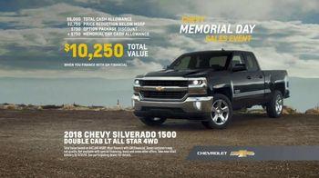 Chevrolet Memorial Day Sales Event TV Spot, 'Scars: Silverado' [T2] - Thumbnail 9