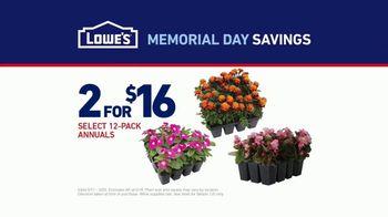 Lowe's Memorial Day Savings TV Spot, 'The Moment: Gardening Gene' - Thumbnail 9