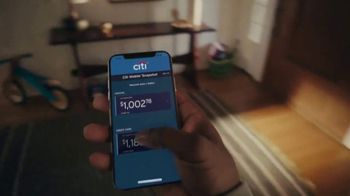 Citi Mobile App TV Spot, 'In the Moment' Song by Amos Lee - Thumbnail 2