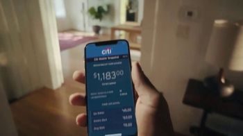 Citi Mobile App TV Spot, 'In the Moment' Song by Amos Lee - Thumbnail 3