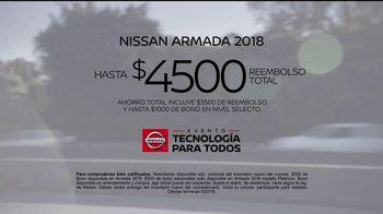 Nissan Evento Tecnología Para Todos TV Spot, 'Lo mejor' [Spanish] [T2] - Thumbnail 9