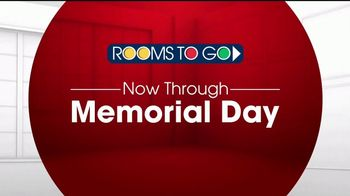 Rooms to Go TV Spot, 'Memorial Day: Dining Room' - Thumbnail 1