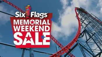 Six Flags New England Memorial Weekend Sale TV Spot, 'Don't Miss It' - Thumbnail 1