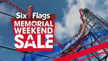 Six Flags New England Memorial Weekend Sale TV Spot, 'Don't Miss It' - Thumbnail 3