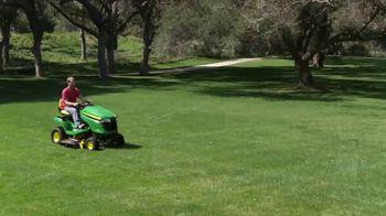 John Deere X350 TV Spot, 'Mow Like a Pro' - Thumbnail 7