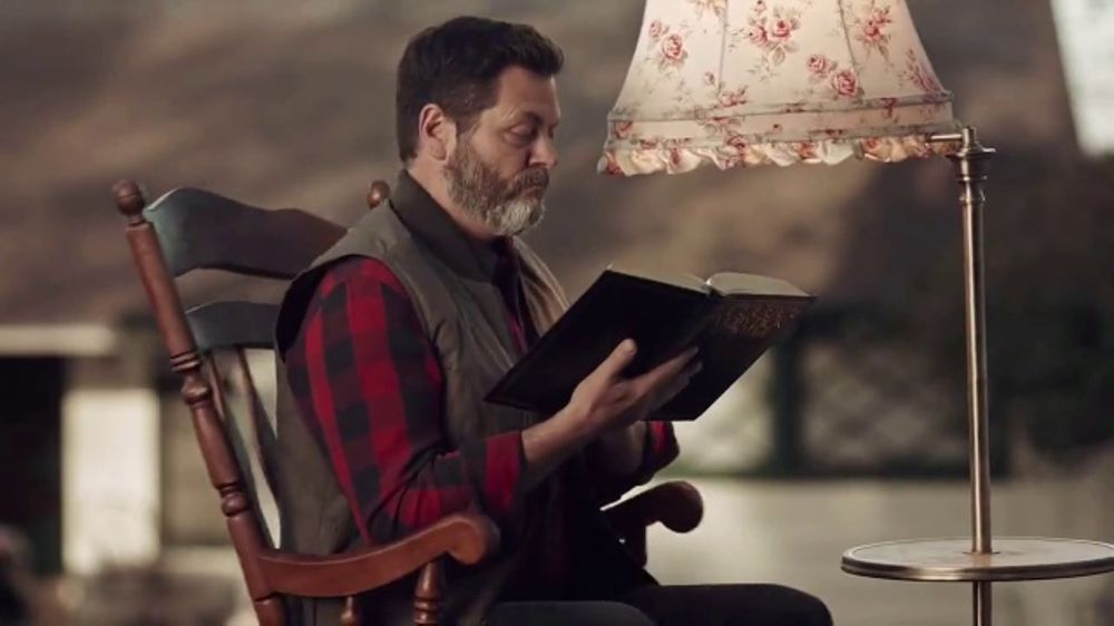 J-B Weld TV Commercial, 'Rocking Chair' Featuring Nick Offerman