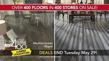 Lumber Liquidators 400 Stores, 400 Floors Sale TV Spot, 'Maple and Bamboo' - Thumbnail 6