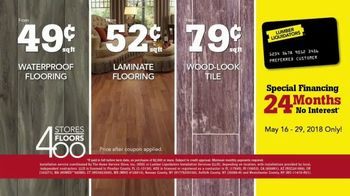 Lumber Liquidators 400 Stores, 400 Floors Sale TV Spot, 'Maple and Bamboo' - Thumbnail 9