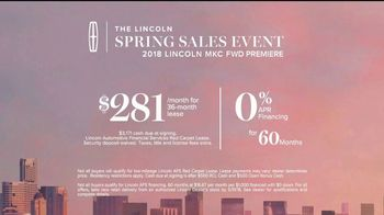 Lincoln Spring Sales Event TV Spot, 'New Perspective: Exhilaration' [T2] - Thumbnail 9