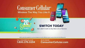 Consumer Cellular TV Spot, 'Coffee Date: $20 Sweet Savings' - Thumbnail 10