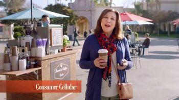 Consumer Cellular TV Spot, 'Coffee Date: $20 Sweet Savings' - Thumbnail 2
