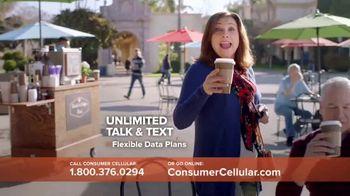 Consumer Cellular TV Spot, 'Coffee Date: $20 Sweet Savings' - Thumbnail 3