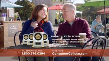 Consumer Cellular TV Spot, 'Coffee Date: $20 Sweet Savings' - Thumbnail 5