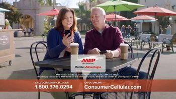 Consumer Cellular TV Spot, 'Coffee Date: $20 Sweet Savings' - Thumbnail 6