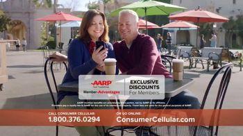 Consumer Cellular TV Spot, 'Coffee Date: $20 Sweet Savings' - Thumbnail 7